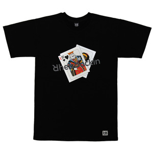 KING CARD TEE BLACK