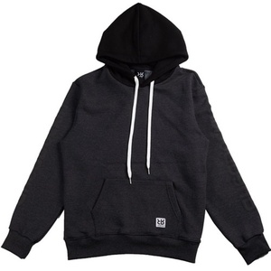 RheaRockin two-tone Hood Gray/Black