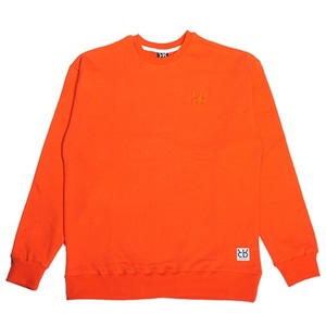 RHEAROCKIN LOGO CREWNECK ORANGE