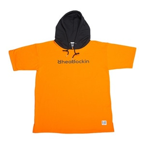 RHEAROCKIN SCRIPT SHORT HOOD ORANGE/BLACK