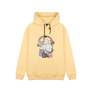 RheaRockin Girl's Dream Hood Yellow