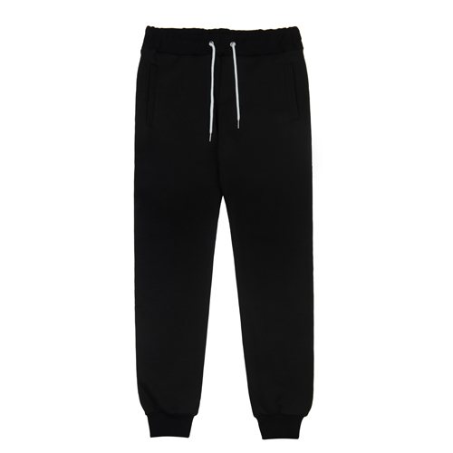RheaRockin Script Sweat Pants Black