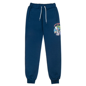 RheaRockin Man's Dream Sweat Pants Navy