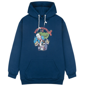 RheaRockin Man's Dream Hood Navy
